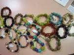 Semi-precious gem bead bracelets loaded w/ healing energies