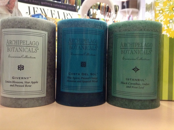 A restock of Archipelago's top scents & 3 NEW! Shop smells heavenly